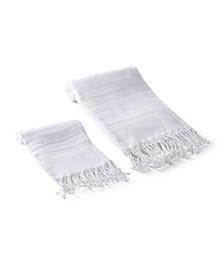 Serenity 2 Piece Bath and Hand Towel Set