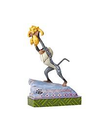 Raffiki and Simba Figurine