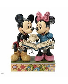 Mickey Minnie 85Th Anniversary Figurine