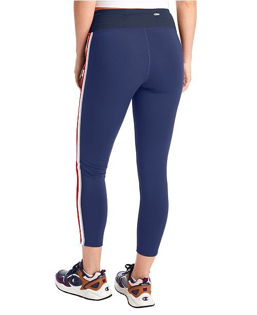 Champion Women S Double Dry Printed High Rise Leggings Reviews Women Macy S