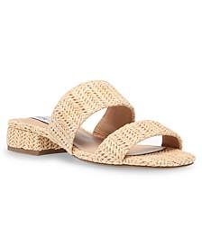 Women's Jaron Block-Heel Slides