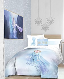 Frozen 2 'Elsa Color block' 6pc Twin bed in a bag