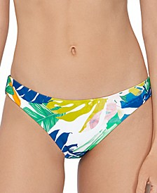 Juniors' Palm Springs Printed Bikini Bottoms