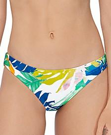 Juniors' Palm Springs Printed Bikini Bottoms