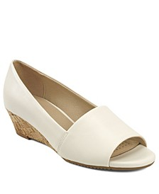 Application Low Wedge Peep Toe