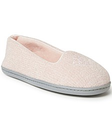 Women's Rebecca Chenille Closed Back Slipper