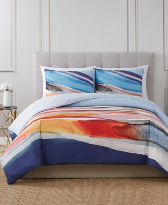Vince Camuto Allaire 3 Piece Comforter Set, Full/Queen