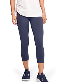 Under Armour Women's Meridian Cropped Leggings