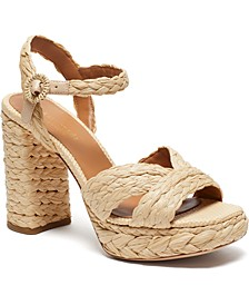 Disco Raffia Dress Sandals