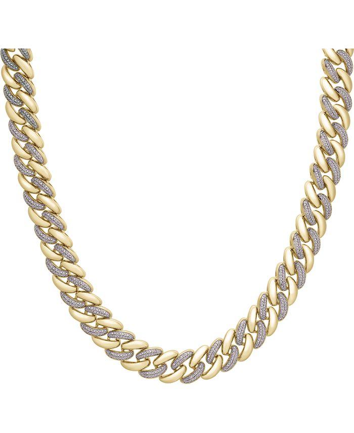 "Macy's - Diamond Link 20"" Chain Necklace (1/2 ct. t.w.)"