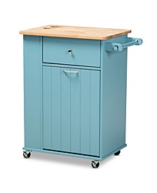Liona Modern and Contemporary Kitchen Storage Cart