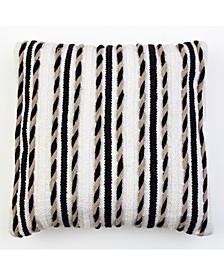 20x20 Hugh Woven Pillow