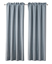 "Florence 50"" L x 84"" W Curtain Panels, Set of 2"