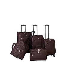 South West Collection 5 Piece Luggage Set