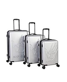 Redondo 3 Piece Hardside Luggage Set
