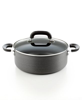 Tools of the Trade Hard Anodized Nonstick 5 Qt. Covered Chili Pot, Only at Macy's