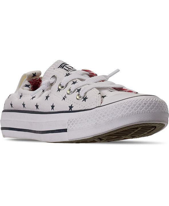 Converse Women's Chuck Taylor All Star Shoreline Stars Casual Sneakers from Finish Line