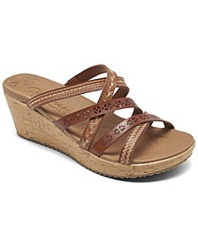 Women's Beverlee - Tiger Posse Wedge Sandals from Finish Line