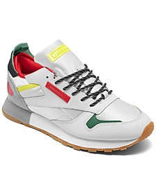 Men's Classic Leather Ree Dux Running Sneakers from Finish Line