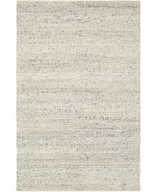 Tahoe TAH-3709 Cream 5' x 8' Area Rug