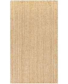 "JS-1000 Wheat 3'6"" x 5'6"" Area Rug"