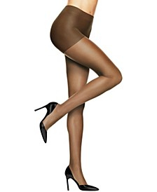 Absolutely Ultra Sheer Control Top Reinforced Toe Pantyhose 706