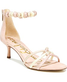 Jayde Kitten Heel Strappy Sandals