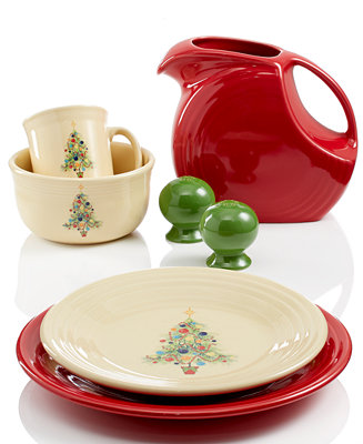 Fiesta Christmas Tree Collection Dinnerware Dining