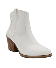 Women's Tarah Western Ankle Booties