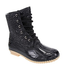 Women's Skipper Glitter Duck Boots