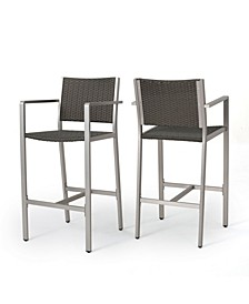 Cape Coral Outdoor 3 Piece Bar Set