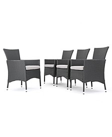 Rebecca Outdoor Dining Chairs, Set of 4