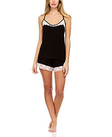 Flora Nikrooz Collection Frida Solid Knit Cami Set
