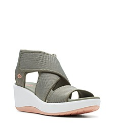 Cloudsteppers Women's Step Cali Palm Sandal