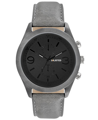 unlisted s gray synthetic 47mm ul1265