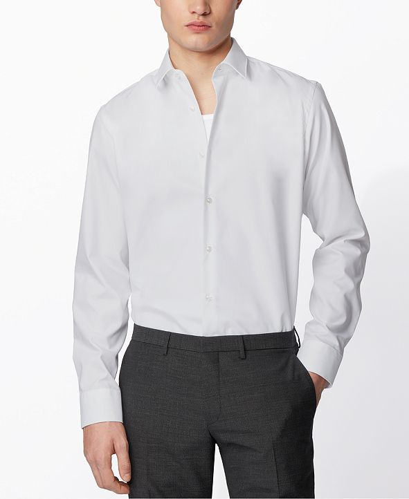 Hugo Boss BOSS Men's Eliott White Shirt