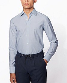 BOSS Men's Jango Light Pastel Blue Shirt