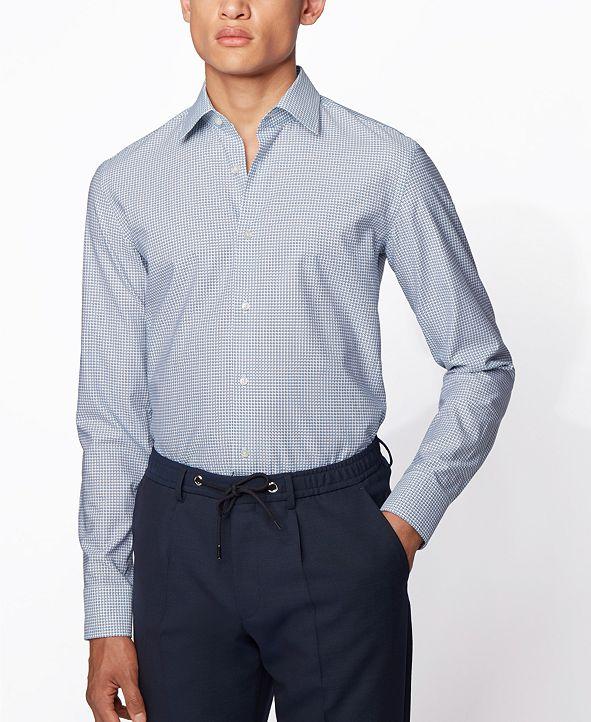 Hugo Boss BOSS Men's Jango Light Pastel Blue Shirt