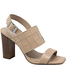 Maison Block-Heel City Sandals