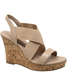 Lupita Platform Wedge Sandals
