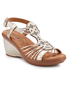 Leona Wedge Sandal