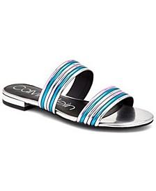 Women's Elliana Double-Band Flat Sandals