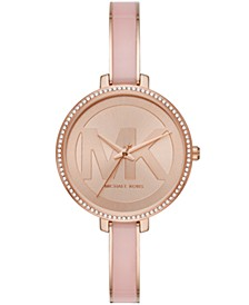 Women's Jaryn Three-Hand Rose Gold-Tone Stainless Steel Watch 36mm