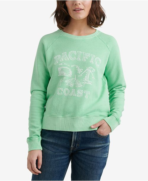 Lucky Brand Pacific Coast Cotton Sweatshirt