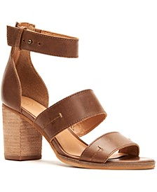 Frye & Co Women's Bryn Stitch City Sandals