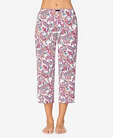Women's Knit Pajama Capri Pant