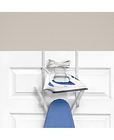 Over The Door Iron Ironing Board Holder