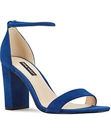 Ola Two-Piece Block Heel Sandals