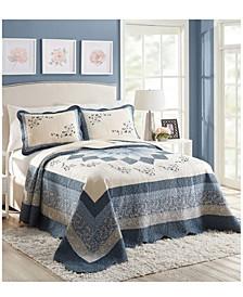 Charlotte Queen Bedspread