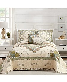 Olivia Bedspread and Sham Collection